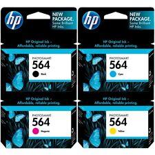 HP Genuine Ink Cartridge 564 BK C M Y GY