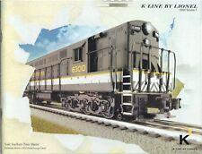 LIONEL 2009 TRAIN CATALOG K Line by LIONEL Volume 1