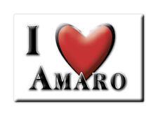 CALAMITA FRIULI VENEZIA GIULIA FRIDGE MAGNET MAGNETE SOUVENIR LOVE AMARO (UD)