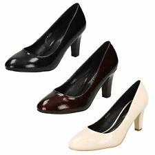 Ladies Anne Michelle Patent Court 'Shoes'