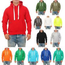 Herren Pullover Kapuze Basic Hoodie Pulli Sweatshirt Kapuzenpullover Sweater
