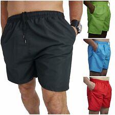 Herren Badehose Badeshorts Shorts Bermuda S Short Schwimmhose Unifarben JUSTBO