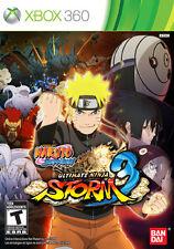 Naruto Shippuden: Ultimate Ninja Storm 3 (Microsoft Xbox 360, 2013)
