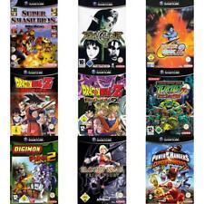 Nintendo Gamecube-Best of lutte jeux/action-état Sélectionnable