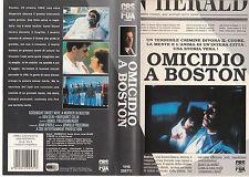 Omicidio a Boston (1990) VHS