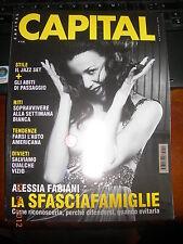 CAPITAL ALESSIA FABIANI JENNIFER GARNER MOURINHO 2/2005 ITALIAN MAGAZINE