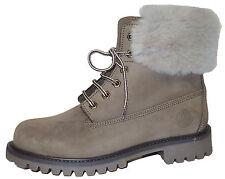 Zecchino d'Oro A04-403 Lammfell Winter Boots Stiefeletten Stiefel  Gr.35-41 Neu