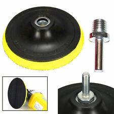 "3""/4""/5""/6""/7"" Car Backing Pad Polishing Plate Buffing Pad M14 Drill Thread Kit"