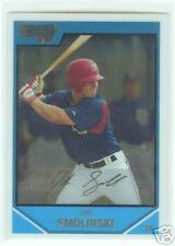 Jake Smolinski Texas Rangers 2007 1st Bowman Chrome Card