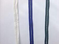 Crocheted Design Lace Edge Trim DIY Dress Sewing Craft 1 Yard 1 cm Wide