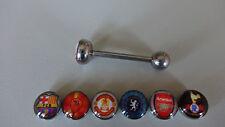 1 LOGO Soccer Futbol Barcelona AS Roma Manchester Chelsea Arsenal Tottenham