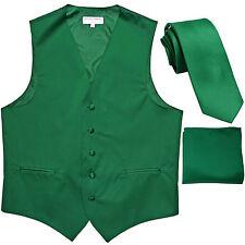 New Men's emerald green formal vest Tuxedo Waistcoat_2.5