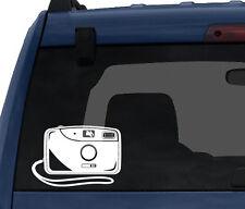 Photography #2 - Flash Film Digital Camera Silhouette  - Car Tablet Vinyl Decal