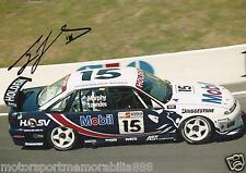 Craig Lowndes SIGNED 1996 6x4 or 8x12 photo V8 Supercars BATHURST HOLDEN HRT