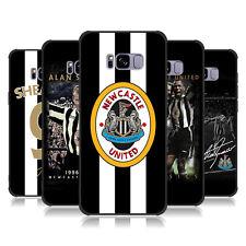 NEWCASTLE UNITED FC COLLEZIONE BADGE RETRO MATTE BLACK CASE PER SAMSUNG TELEFONI