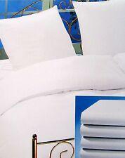 Bettwäsche 135x200 Hotelwäsche  5* Bettbezug Weiß 100% Baumwolle
