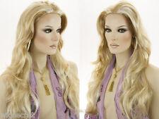 Long Skin Top Wavy Straight Blonde Brunette Red Grey Wigs