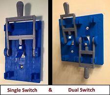 Steampunk Frankenstein Light Switch Cover Plate Flip Handle - Home Decor - Blue