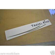TEC Travel King - (SIDE/REAR) - Caravan Name & Flash Sticker Graphic - SINGLE