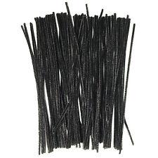 Black pipe cleaners/chenille tiges for arts & crafts activités pour enfants