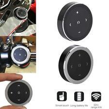 Bluetooth Media Audio Music Remote Control Button Car Steering Bike Wheel M C2X1