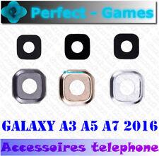 Samsung galaxy A3 A5 A7 2016 lentille vitre cache camera arrière lens cover