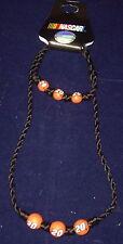 Pine Sport Nascar 20 Beaded Nacklace & Bracelet