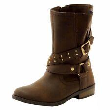 Jessica Simpson Girl's Callie Fashion Moto Boots Shoes