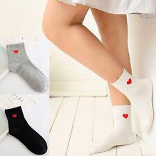 Heart sock low cut casual novelty love gift hearts lover present tennis Socks