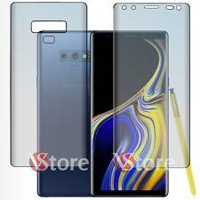"""Pellicola Per Samsung Galaxy Note 9 Copertura Completa Curvo Silicone LCD 6,4"""""""