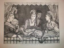 La Svezia opera diva Christina NILSSON 1872 Print
