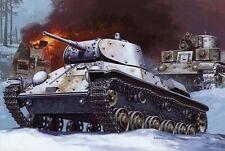 T 50 - WW II TANK (SOVIET & FINNISH MARKINGS) 1/35 MIRAGE !VERY RARE!