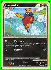 """Carte Pokemon """" CARVANHA """" Série HS TRIOMPHE PV 50 59/102  VF"""