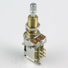 Push-Push DPDT B500K Switching Pot Potentiometer. 28mm Long Shaft POT12