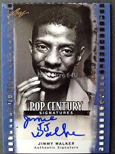 2011 Leaf Pop Century Autograph JIMMY WALKER JJ Good Times Auto #ed 3/5