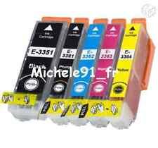 Lot cartouches Compatibles EPSON NON-OEM : 33 XL T3351 T3361 T3362 T3363 T3364