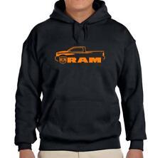 Dodge Ram Pickup Truck Black Hoodie Sweatshirt FREE SHIP