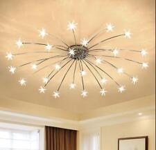 Star Meteor Glass Dandelion LED Chandelier Pendant Lamp Ceiling Lighting Light