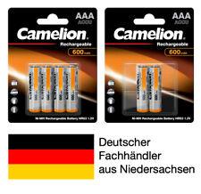 Akkus aufladbare Batterien AAA Micro für Telefon Siemens Gigaset Telekom T-Sinus