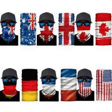 Bandana Outdoor Bike Motorcycle Scarf Neck Face Mask Ski Snowboard National Flag
