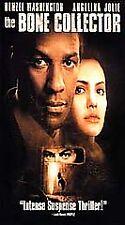 The Bone Collector - Denzel Washington, Angelina Jolie, Queen Latifah (VHS/2000)