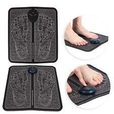 Electric Ems Foot Massage Pad Feet Acupuncture Stimulator Massager