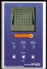 HASBRO POGO CONNECT FOUR ELECTRONIC HANDHELD BOARD GAME MILTON BRADLEY BOARDGAME