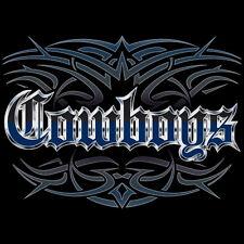 NEW Cowboys Tattoo Style Hoodie Hooded Sweatshirt 4XL 5XL Blue Wave Creations