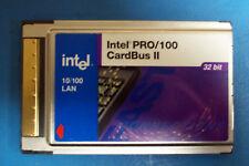 INTEL PRO/100 CARD BUS II 10/100 LAN 32 BIT