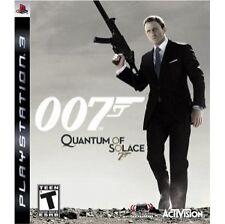James Bond 007 Quantum of Solace Ps3 Brand New