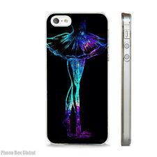 Danza Ballet Brillo Pointe caso claro se ajusta IPHONE 4S 5 5S 5 6 6S 7 8 SE C Plus X