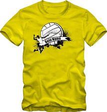 Volleyball T-Shirt mit deinem Namen  oder  Verein  versch. Farben  DTG Druck