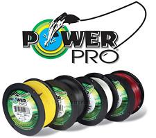 POWER PRO 200M GEFLOCHTENE SCHNUR ROT / WEIß / GELB / GRÜN 0,10MM - 0,36MM