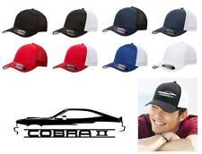 1976 1977 1978 Ford Mustang Cobra II Color Outline Design Hat Cap